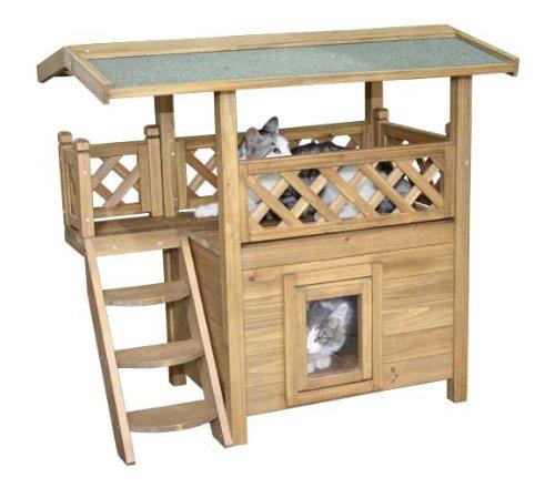 Kerbl Maisonnette pour Chat Lodge 77x50x73 cm