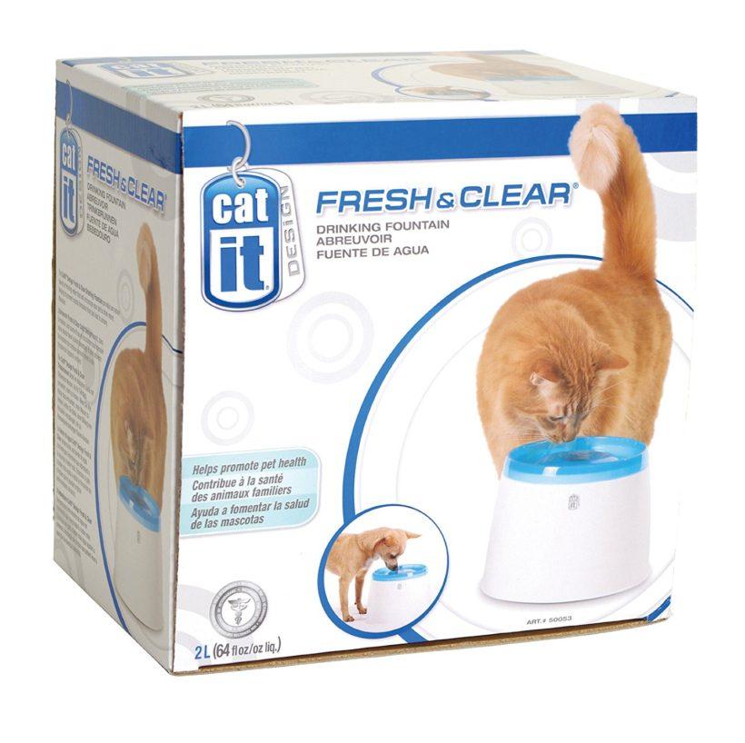 Une fontaine pour chat pas cher