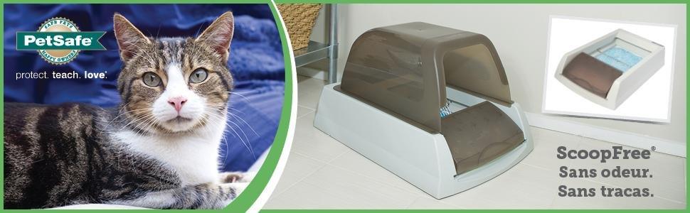 Petsafe ScoopFree autonettoyante, un bac à litière révolutionnaire